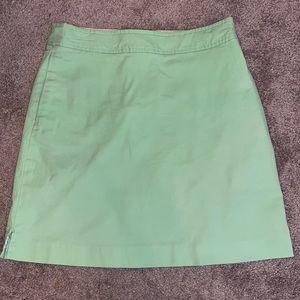 Vineyard Vines 4 mint green skirt skort women's